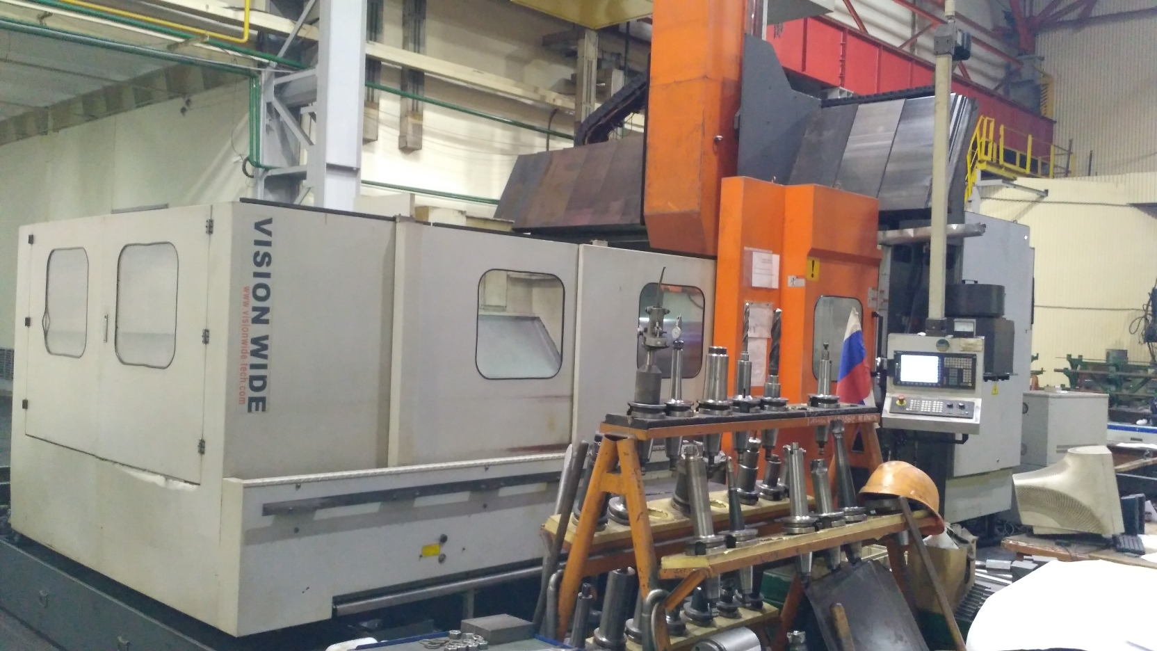 Milling machining center