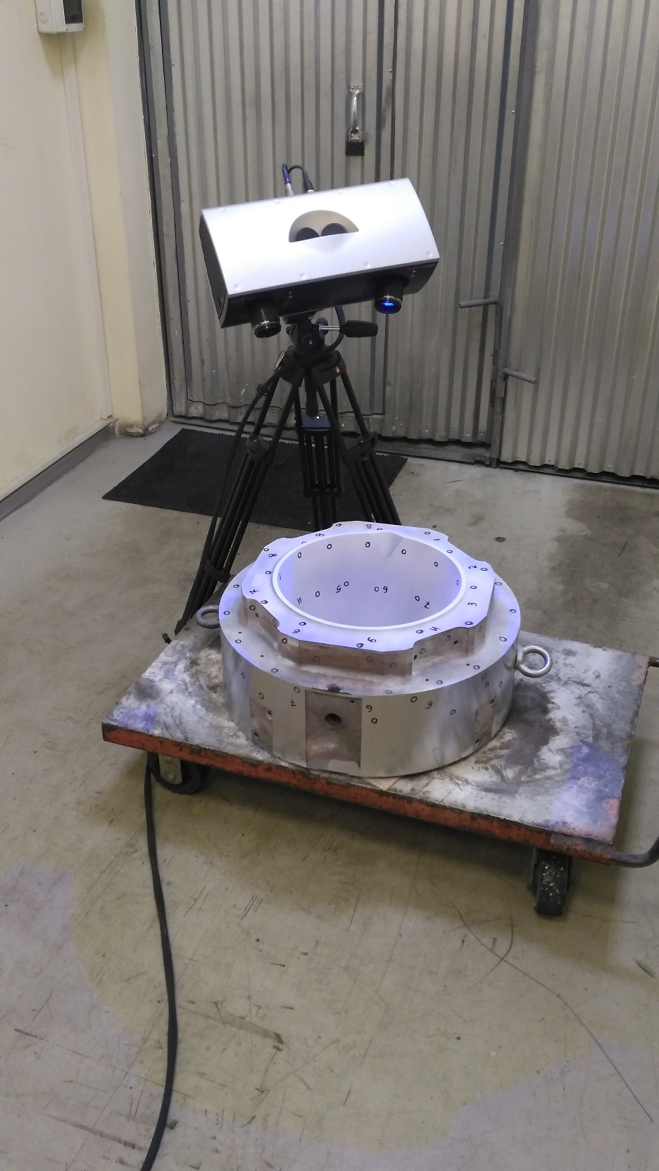 Optical 3D scanner