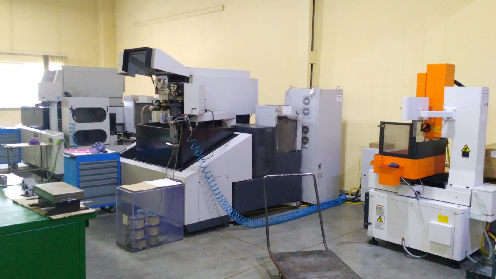 Wire-cut / EDM machines
